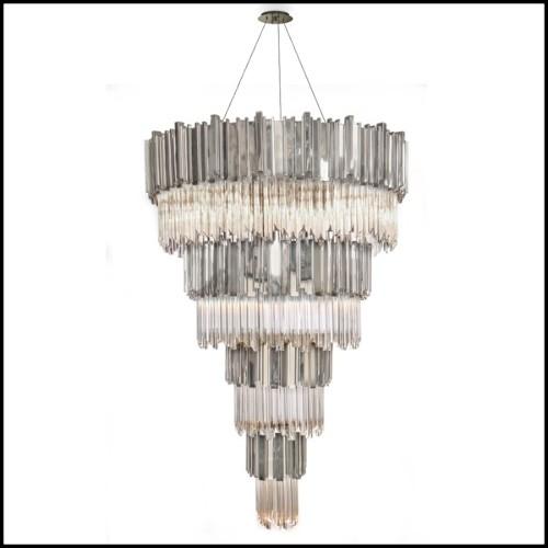 Table d'appoint en acier inoxydable poli 24-Sceptre