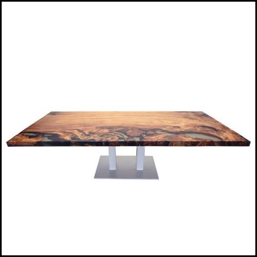 Sculpture en bois d'orme massif 70-Pen Duick