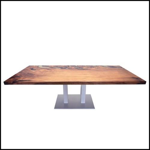 Sculpture handmade horse in teak root Indonesian manufacturing 70-Kaline des Monceaux
