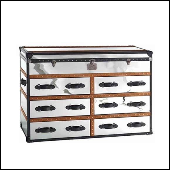 Miroir 13-B 727, en aluminium