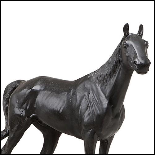Miroir avec structure en métal 38-36 Facettes rondes