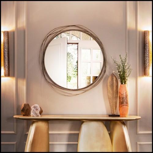 Lampadaire Palmier Murano Art Deco Set de Deux en véritable verre de Murano travaillé à la main PC-Palmier Murano Art Deco