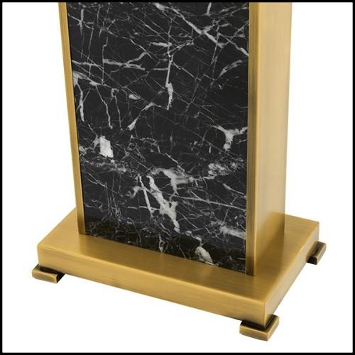 Sculpture en bronze Femme à tête de coq sur base 19-Femme à tête de coq