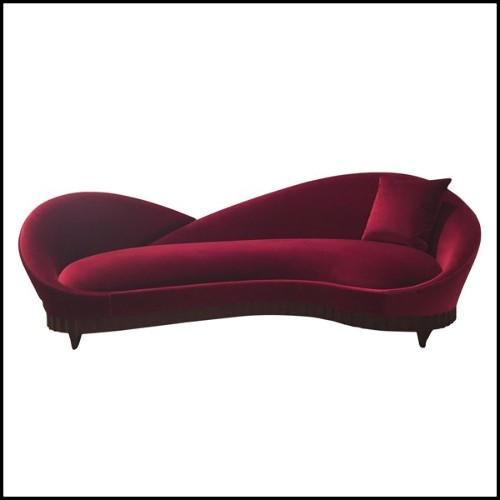 Lampadaire en laiton poli avec 3 feuilles 24-Ginko Biloba