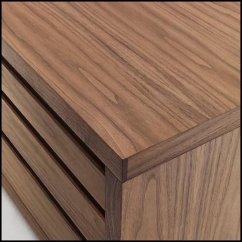 Console en fibre de verre peinte à la main à la feuilles d'or 155-Gold Pebble