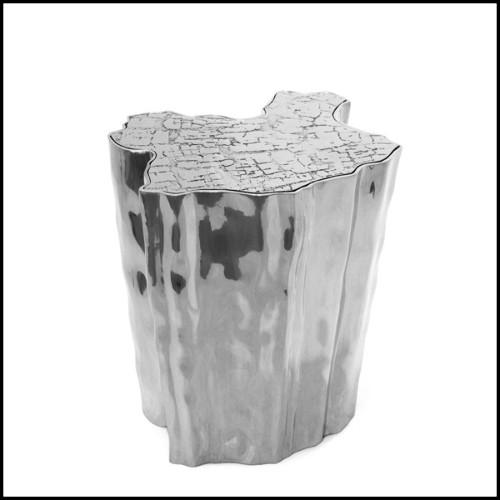 Serres-livres Set de 2 finition nickel idéal pour décorer vos étagères 24-Column