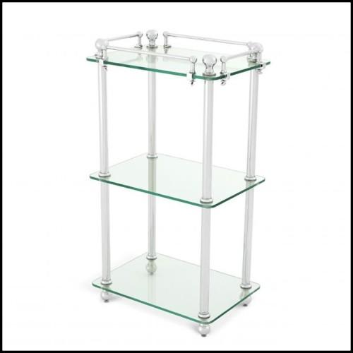 Tabouret en bois flotté 38-Pus 18