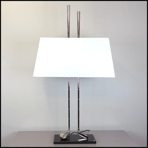 Table basse ronde avec structure en laiton vieilli avec en plateau en marbre 155-Arcade