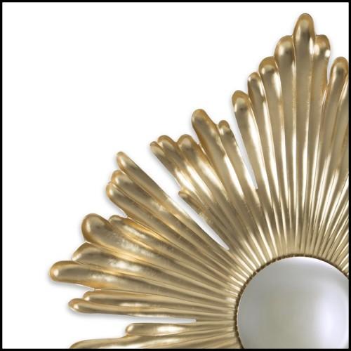 Lampe en verre de cristal fumé avec abat-jour noir 24-Brighton