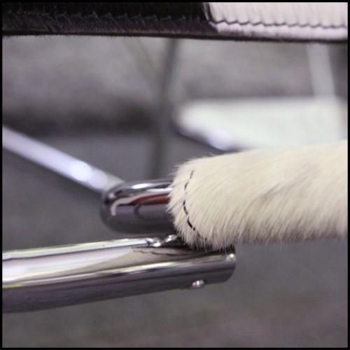 Paravent avec structure en acier finition Gold et miroir en verre biseauté 24-Miss