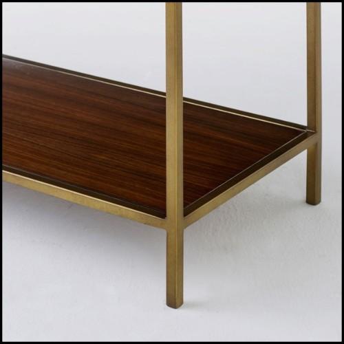 Banc en bois taillé d'un bloc en bois de cèdre massif naturel aux courbes ondulées 154-Hill Bench
