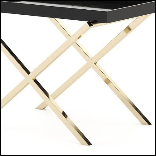 Set de deux serres-livres en bronze massif finition patiné 24-Parrot