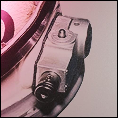 Bougeoir en verre cristal 24-Pearl