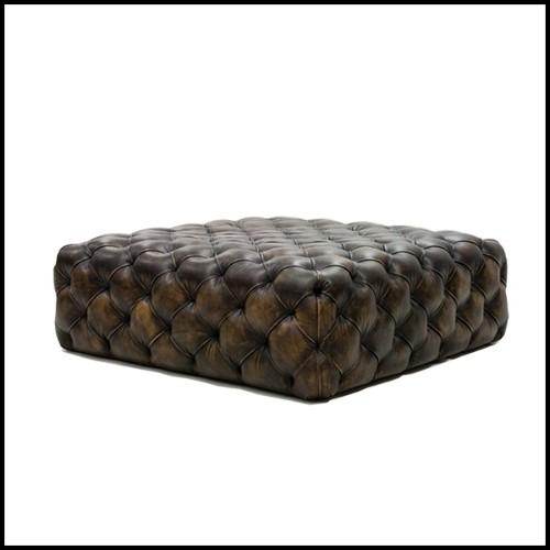 Table d'appoint Tambour de pluie années 1930 en bronze massif 38-Rain Drum