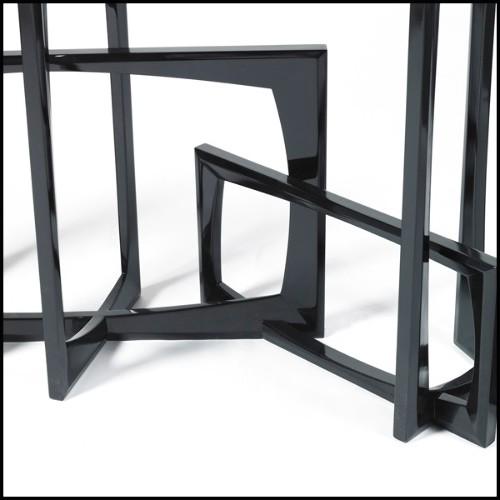 Set de deux véritables cornes de Bélier sur socle en bois PC-Aries Horns