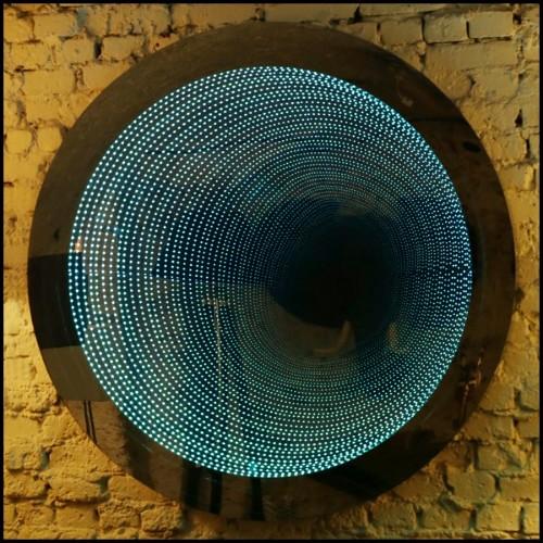 Bougeoir en véritable cristal de roche 84-Crystal Rock Cube