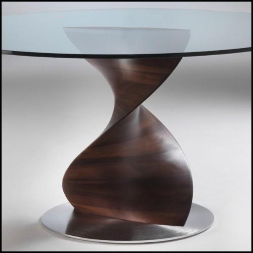 Miroir finition Gold avec miroir en verre biseauté 24-Sun
