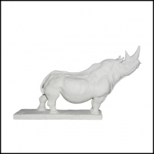 Sculpture plaster finish 11-RHINOCEROS