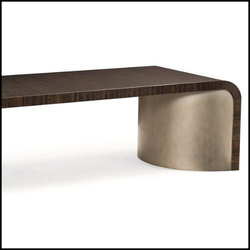 Miroir finition laiton antique avec verre miroir biseauté 24-Scuadro