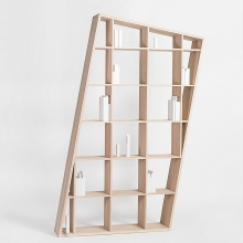 Shelve or bookcase 100% solid French oak 112-Aspect