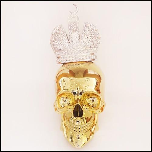 Vase noir argent et blanc Emaux de Longwy fabriqué en France PC-Black Panther