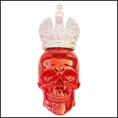 Vase coloré le Toucan Emaux de Longwy fabriqué en France edition limitée et numérotée PC-Toucan
