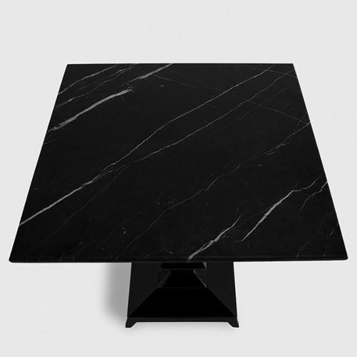 Paravent en bois laqué noir ou blanc finition haute brillance 145-Discus