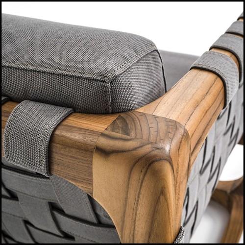 Colonne avec structure en acier inoxydable poli et plateau en verre clair 24-Tertio