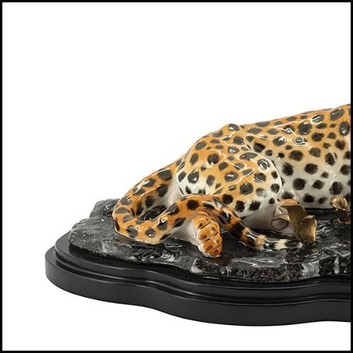 Horloge en cristal Baccarat avec diodes à LED blanches et bleues PC-Blue Baccarat Medium
