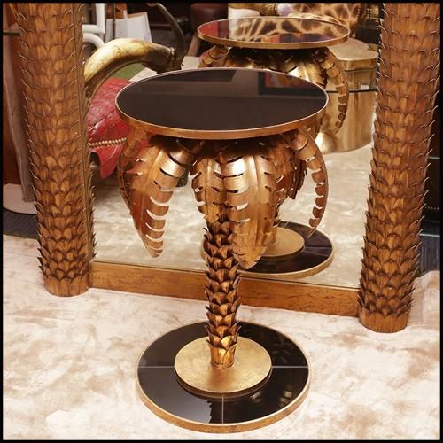 Serres-Livres set de 2 en marbre noir 24-Column Black Marble