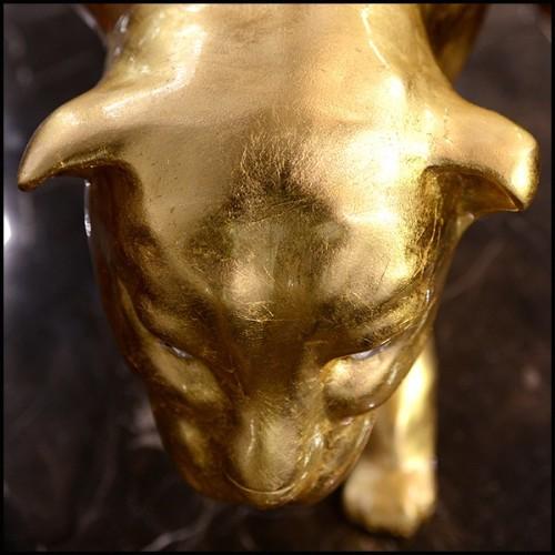Table d'appoint set de 3 structure finition chrome avec plateaux en marbre blanc ou verres teintés bleus 162-Half Moon