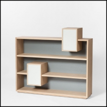 Shelve 100% solid French raw oak from sustainable forests 112-Functional