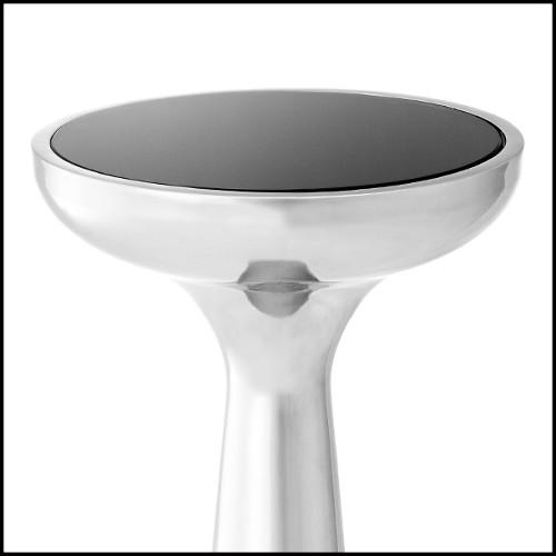 Miroir avec cadre en laiton finition antique et miroir en verre biseauté 24-Scuadro