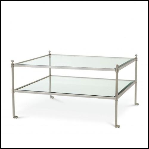 Projecteur, Lamp 24-Téléscope en nickel et bois