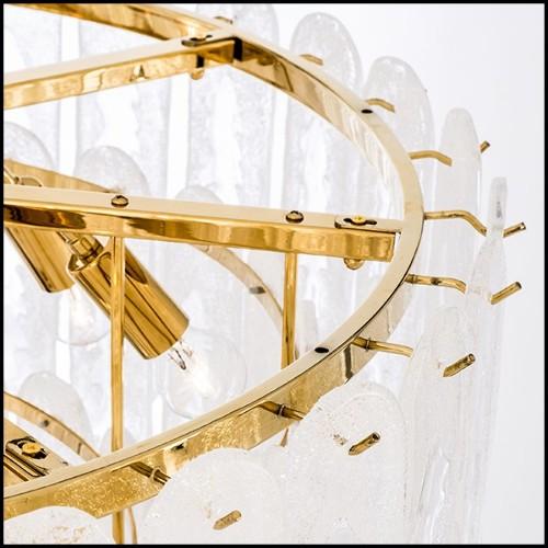 Table de repas fabriquée avec loupe d'un orme et avec résine transparente extra solide 161-Elm Wood and resin