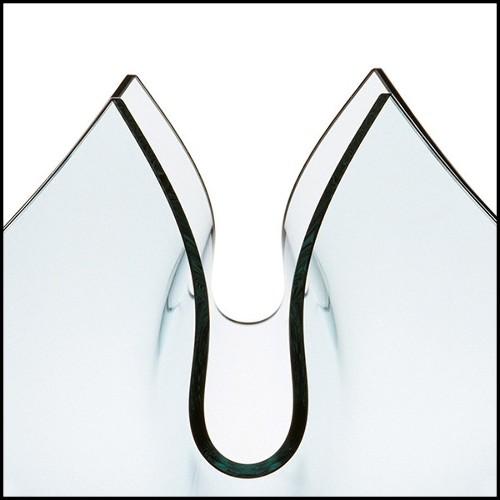 Table basse avec structure en bronze massif et plateau en marbre Lilac blanc ou brown 24-Leggy