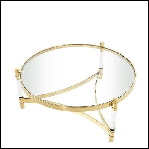 Vase Emaux de Longwy fabriqué en France en édition limitée PC-Palmers white and golded