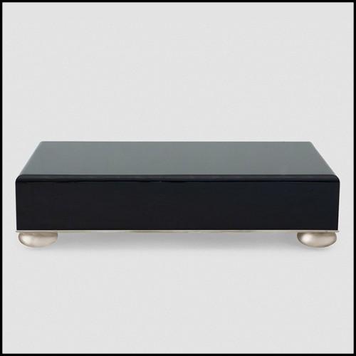 Chevet avec 4 tiroirs en bois massif travaillés à la main 145-Exceptional Drawers