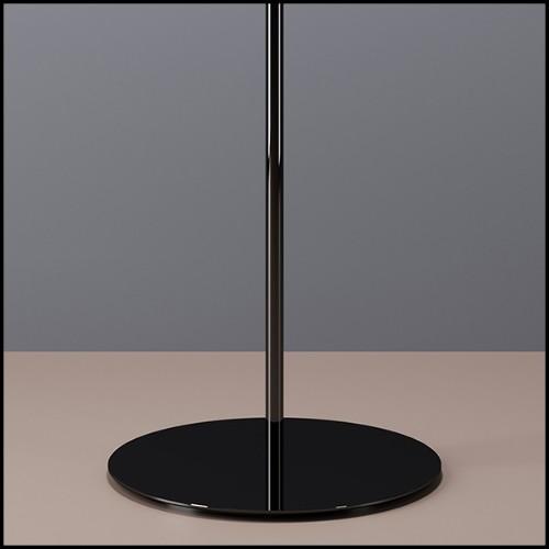 Double Sofa couvert avec peau de buffle d'Asie et dos couvert avec peau de zèbre de Burchell PC-Grand Zebra