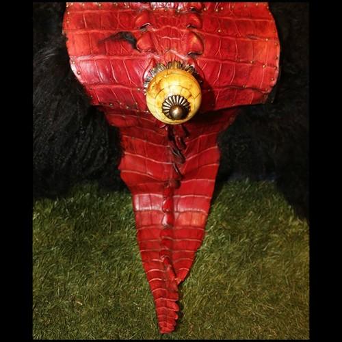 Maquette d'avion avec feuilles d'aluminium finition argent poli 113-Mustang P51
