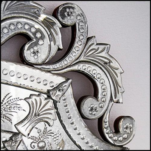 Coupe en porcelaine avec couple de hérons et roseaux en laiton 38-Herons