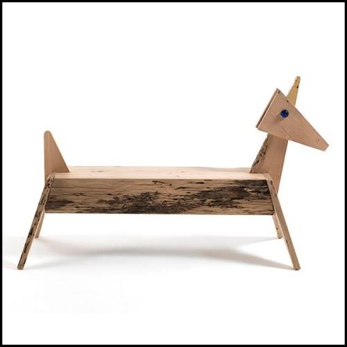 Canapé couvert avec tissu velours noir ou tissu velours écru 24-Polaris