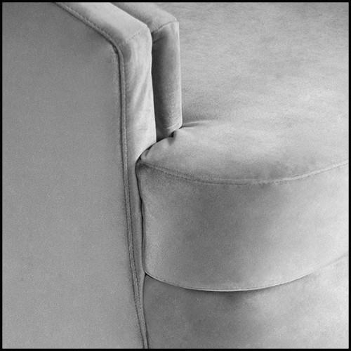 Sculpture marionnette africaine en bois taillé à la main sur base en fer forgé PC-Kote Kono B