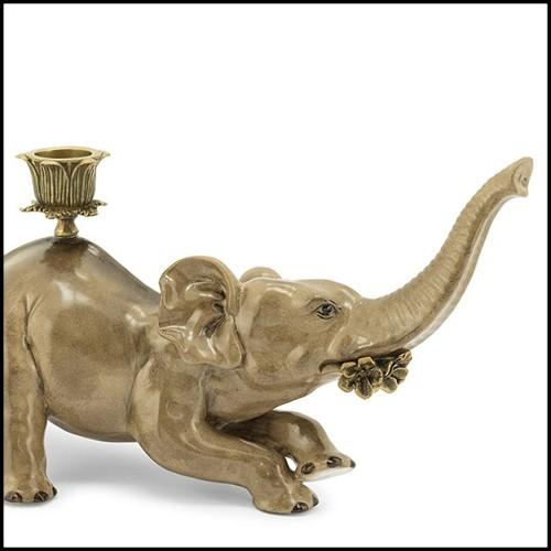 Table d'appoint en acier inoxydable poli avec acrylique transparent et plateau en verre clair 24-Princess Side Table