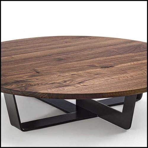 Sculpture en laiton finition brossé style cubisme 119-Rhino