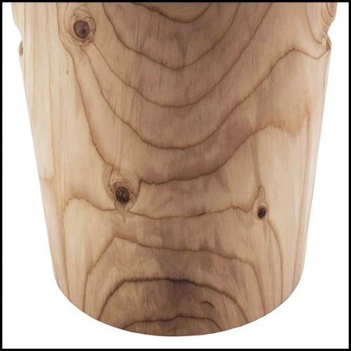 Buffet finition gold et avec plateau en marbre noir 162-Tubes II