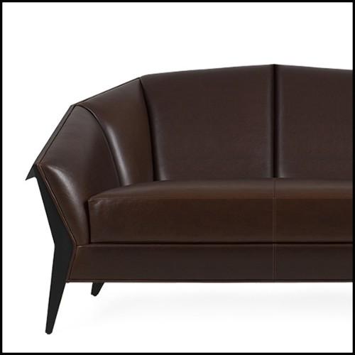 Table d'appoint avec structure en bois de bouleau massif finition blanc ciré 24-Mac Gregor
