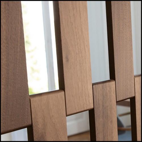 Set de 2 tables d'appoint avec structure en acier inoxydable poli et plateaux en marbre blanc 24-Duo Set
