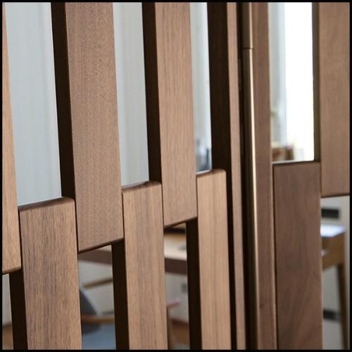 Set de 2 tables basses avec structure en acier inoxydable poli et plateau en marbre blanc 24-Duo Set