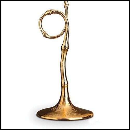 Horloge avec structure en aluminium poli 24-Capitain